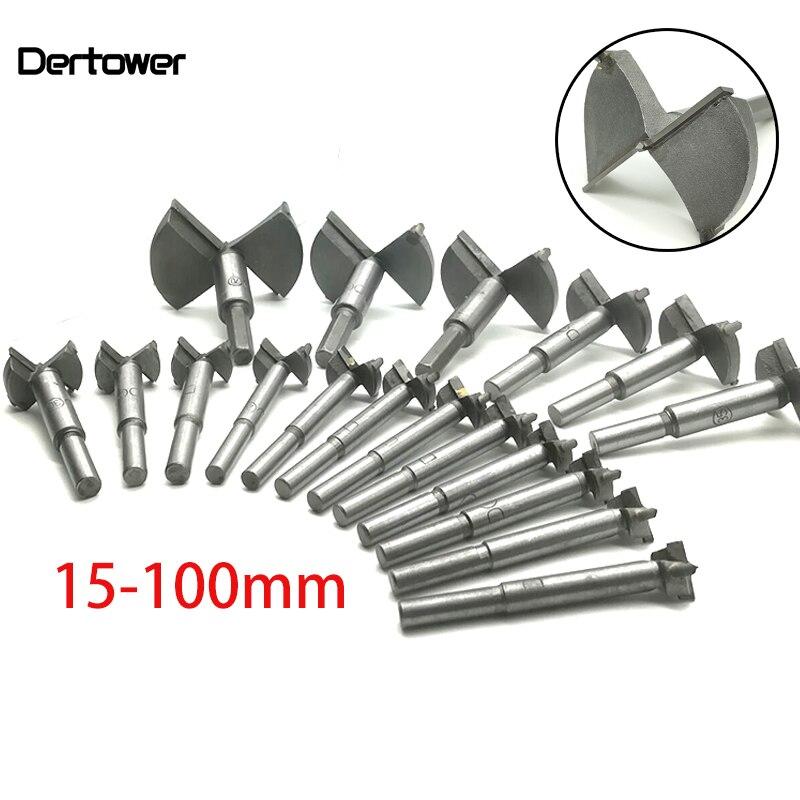 Forstner Wood Drill Bit Self Centering Hole Saw Cutter Woodworking Tools Set 15mm,20mm,25mm,30mm,35mm Hinge Forstner Bits DT2
