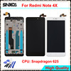 Sinbeda 5 5 For Xiaomi Redmi Note 4X LCD Display Touch Screen Digitizer Assembly Frame For