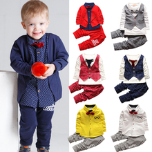1 2 4 year Children clothing sets casual kids sport suits Baby boys clothes gentleman suit costume for girls boutique outfits little girls clothing set kids winter clothes 3 pcs baby girls suits fashion 2018 warm children sets for girl boutique outfits