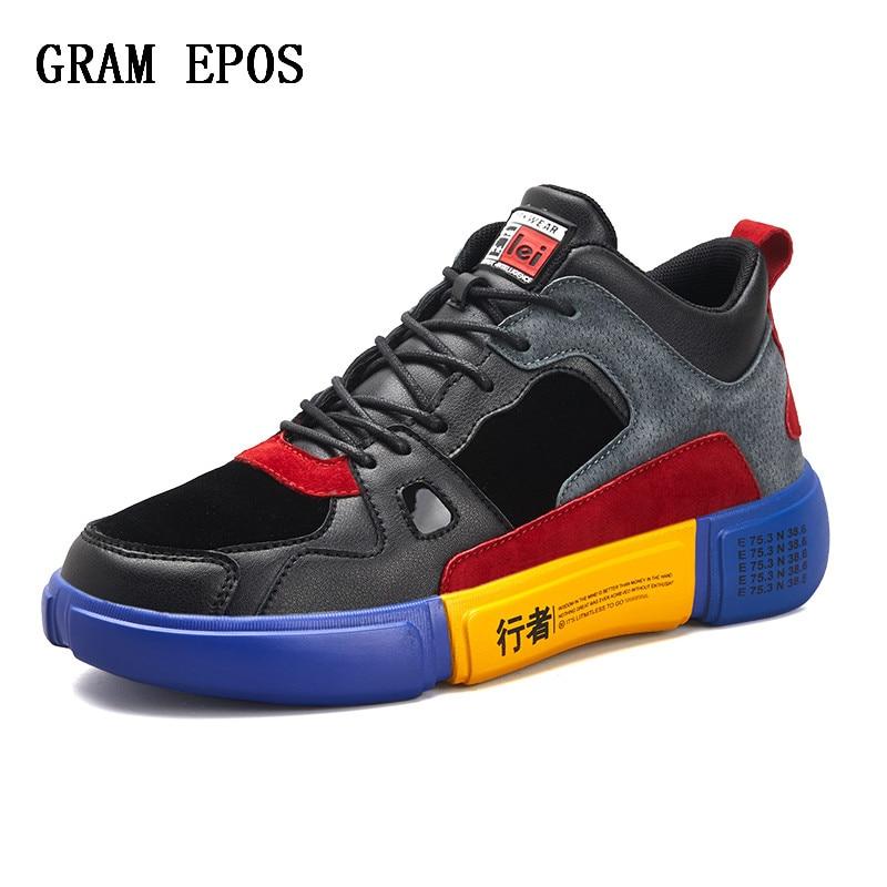 4ca25b34e751b Ocasionales De Bloqueo Los Oscuro Personalidad Adulto Costura Hombres Color  Zapatos Masculino color Caqui Con Rojo ...