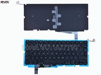 Po Portuguese Keyboard Laptop For APPLE Macbook Pro A1286 BLACK For 2008 With Backlit Board Notebook