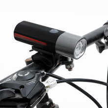 New 1600mAH Bicycle Light Riding Safety Warning LED Headlight Cycling Waterproof Rotatable Lamp Usb Rechargeable Lights