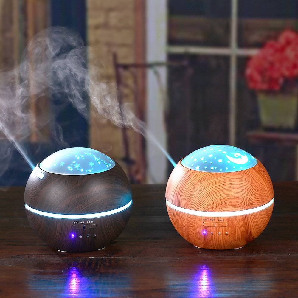 7-Colors-Changing-Light-Projector-14W-Ultrasonic-Humidifier-Last-Work-5-to-8-Hours-Aromatherapy-Essential (4)