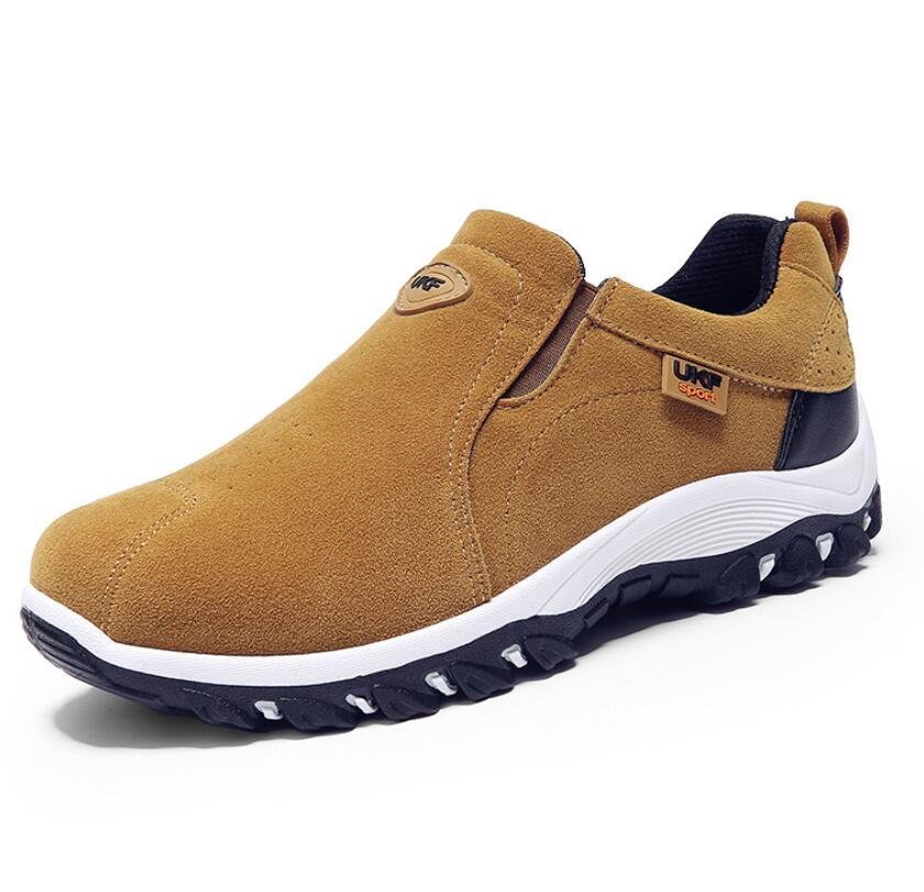 39-44 Winter Shoes Men Slip On Cotton Lining Men Boots Anti Skidding Winter Boots Men Wear Non-slip Outdoor Sneakers Hombre