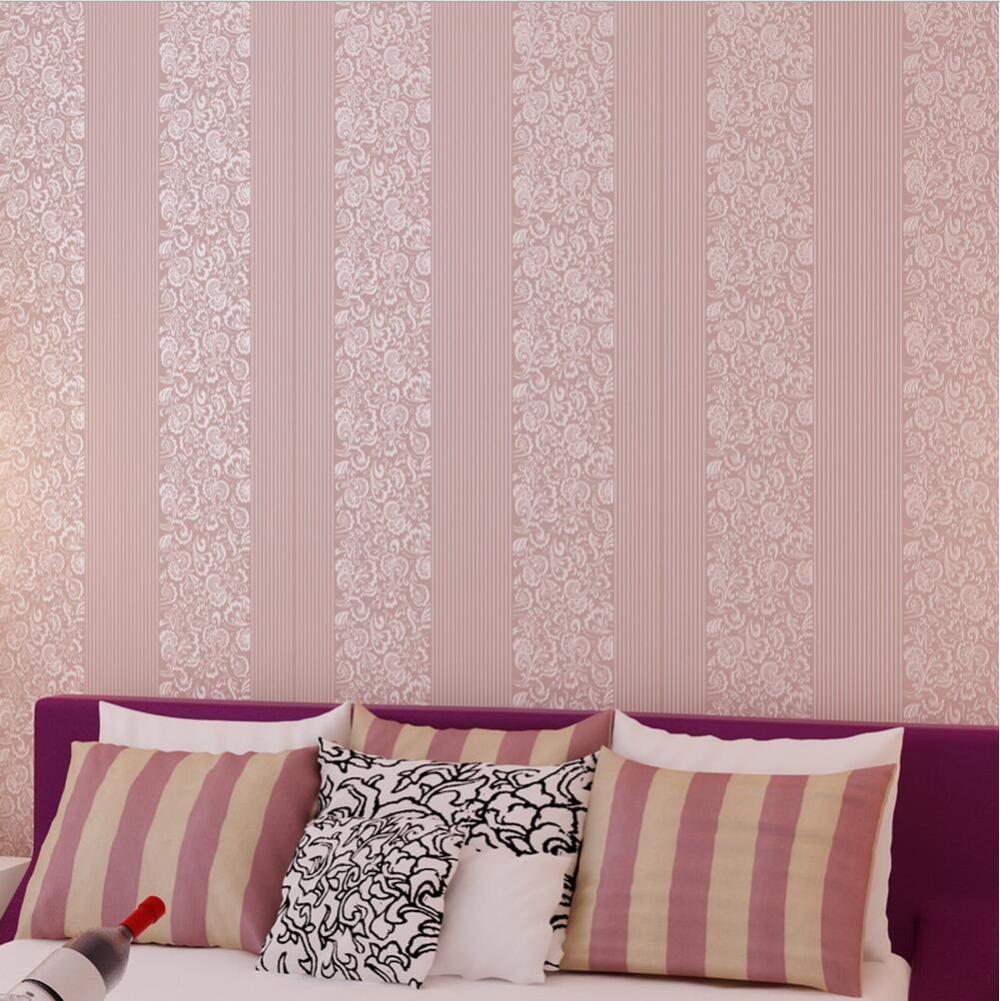 Preis auf pink stripe wallpaper vergleichen   online shopping ...