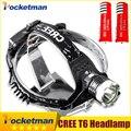 Headlamp 3800LM LED Headlight CREE T6 LED Head Lamp Torch LED Flashlights Biking Fishing Torch with 18650 Battery