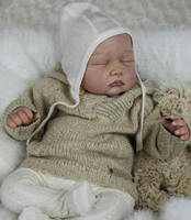 Most Popular Limited Edition Realistic Reborn Doll Kit Vinyl Silicone Kit DIY 22 Inches Reborn Baby
