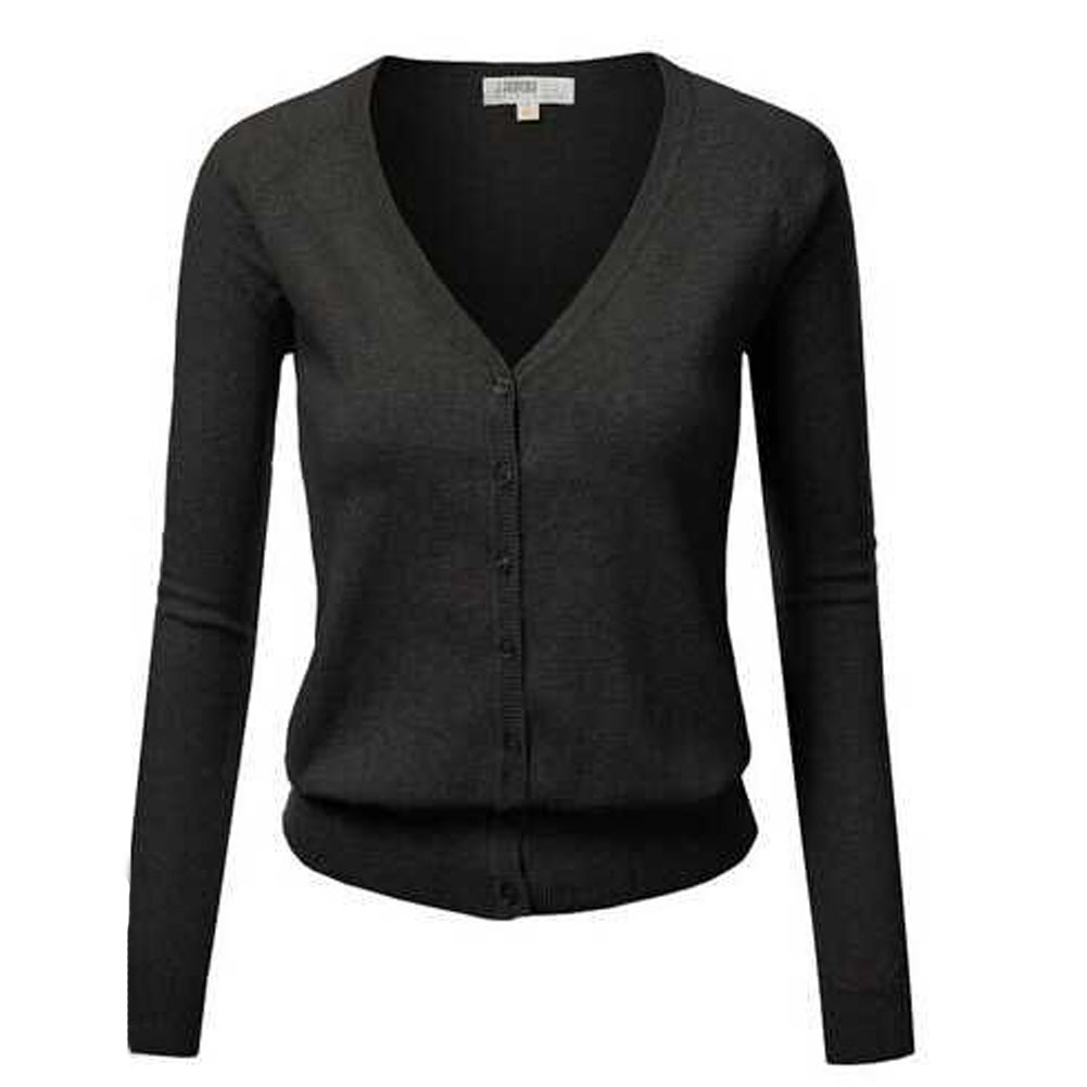 Online Shop Button Up Cardigan Winter Jacket Women'S Sweaters Long ...