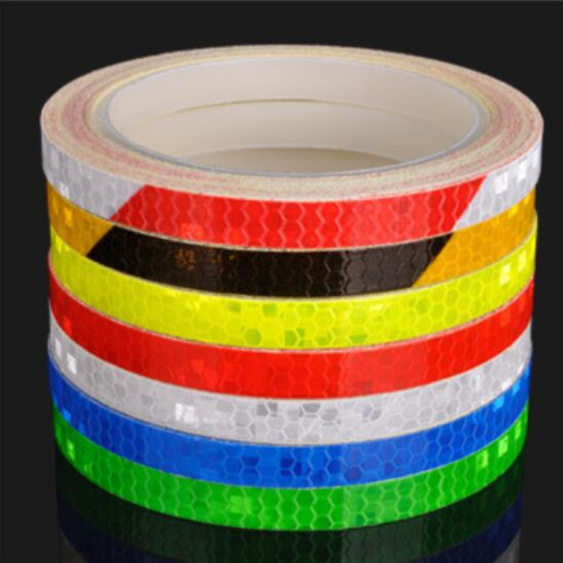 800cm/315inch Fluorescent MTB Bike Bicycle Cycling Motorcycle Reflective Stickers Strip Decal Tape Safety Waterproof