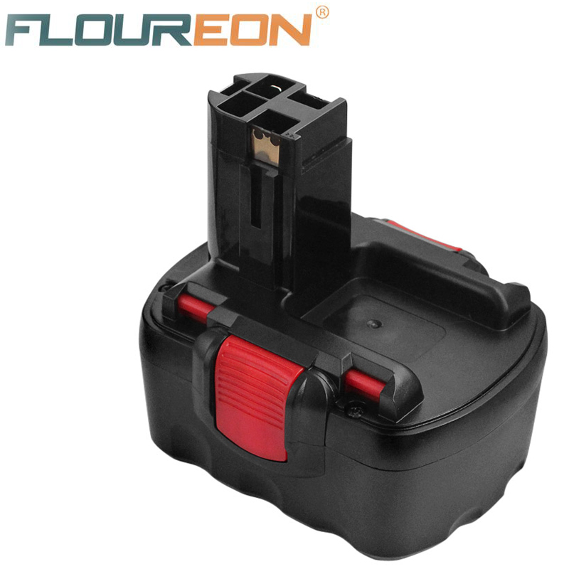 For Bosch Power Tools Battery FLOUREON 14 4V 3000mAh Ni MH Replacement Rechargeable Battery for BOSCH