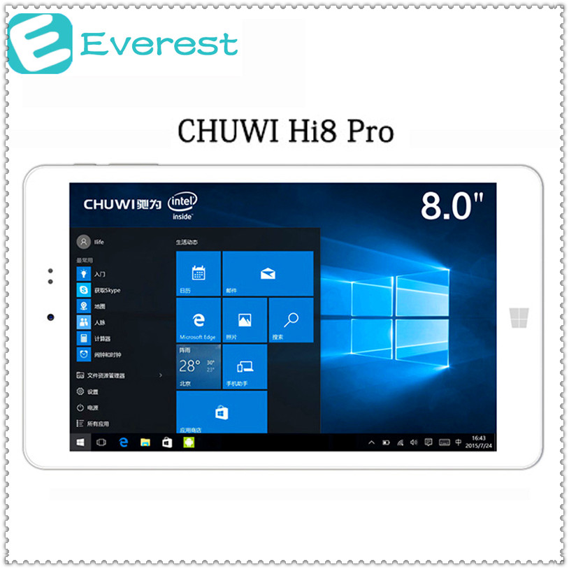 CHUWI Hi8 Pro Tablet PC Windows10+ Android5.1 Intel Cherry Trail X5 Z8350 Quad Core 32GB 1900x1200 IPS Bluetooth OTG Tablets