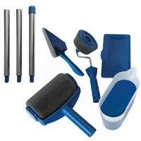 Paint Runner Pro Roller Brush Handle Tool Set Kit Edger Room Wall Painting Home Garden Extension