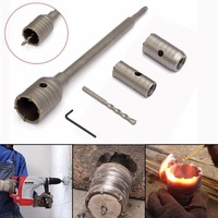 55mm SDS Plus Shank Hole Saw Cutter Concrete Cement Stone Wall Drill Bit