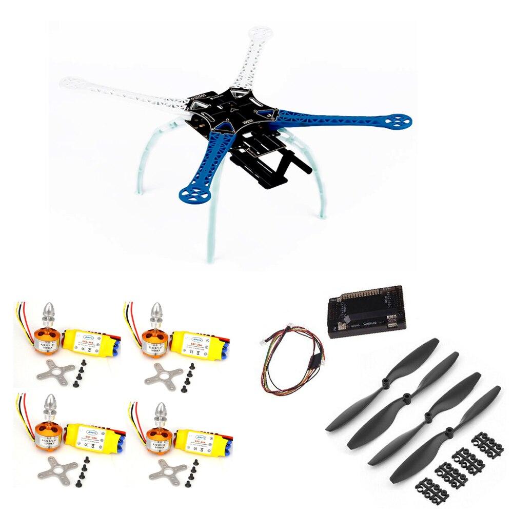 S500 Quadcopter Frame W/ APM2.6 Flight Controller XXD 2212 Motor 30A ESC qav210 quadcopter frame kit f3 acro flight controller 20a esc blheli s mt2204 2300kv brushless motor 5040 propeller diy