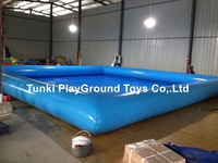 Outdoor Swimming Pool PVC Inflatable Water Pool Inflatable Swimming Pool water aqua pool water tank 10X10X0.65M