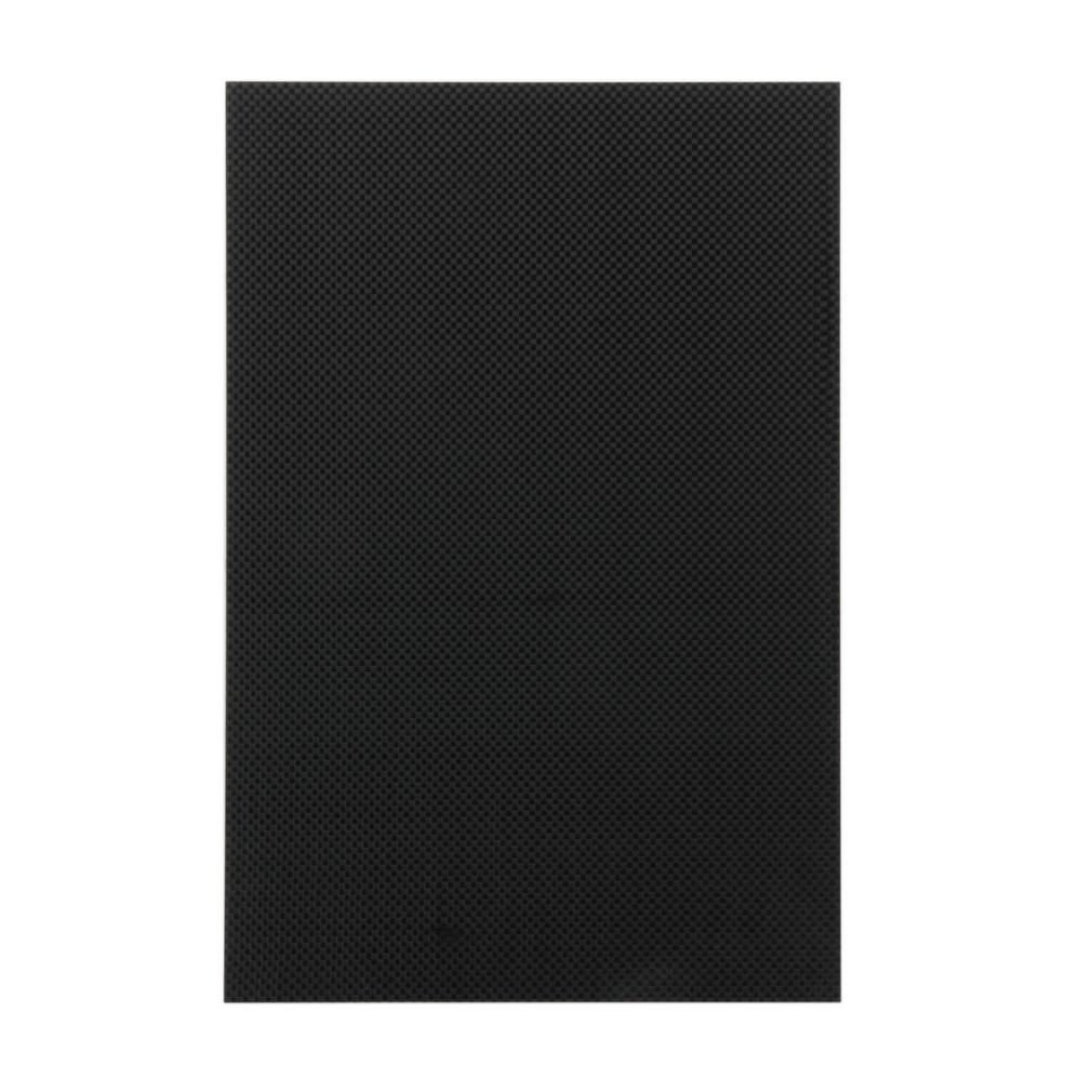 Hot! MONSIEUR. RC 1 pc 200*300*1.5mm Noir des Deux Côtés Brillant Surface 100% Plaque De Fiber De Carbone nouveau Vente