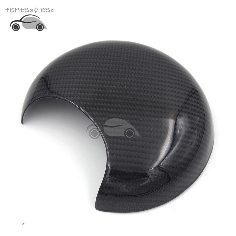 Carbon Fiber Printed Car Tachometer Shell Cover Moulding Trim Sticker for Mini Cooper One R55 R56