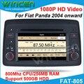 Jogador GPS carro DVD para Fiat Panda 2004 em diante suporte 1080 P HD vídeo com GPS RDS BT Frete grátis