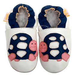 جلد الطفل أحذية الأولى مشوا الصبي شبشب الوليد الطفل الأخفاف الاطفال حذاء طفل صغير الفتيات الرضع Moccs الأبيض عدم الانزلاق 0-4y