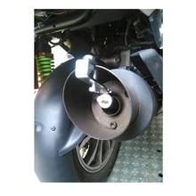 Автомобильный турбо звук имитатор глушителя серебро S/M/L/XL подходит для мотоцикла/автомобиля прямой глушитель RS-TUR006 дропшиппинг