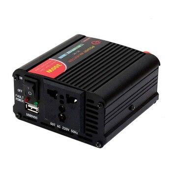 цена на MAHAQI 300W Power Inverter Converter DC 12V To 220V AC Cars Inverter With Car Adapter Hot Sale