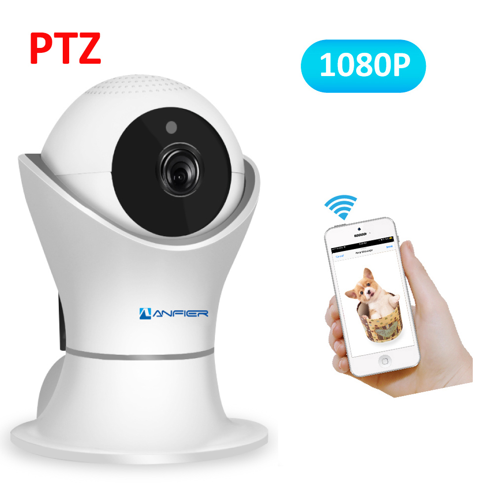 2MP 1080P Home Security IP Camera Wireless Mini Vedio Surveillance Wifi Camara Wi-fi Nanny Audio Record APP View Baby Monitor HD