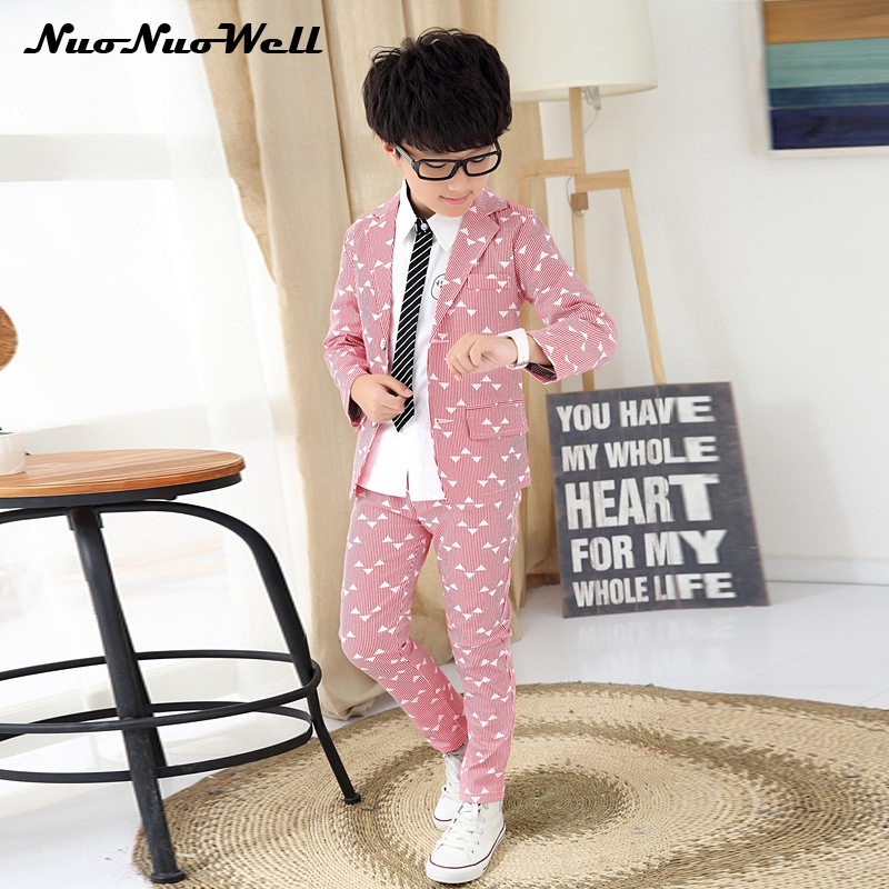 Children Wedding Suits Teenager Boy's Blazers Suit Party Clothing Boys Dresses Boys Gentle Suits 2Pcs Kids Formal Sets Coat+Pant цена 2017