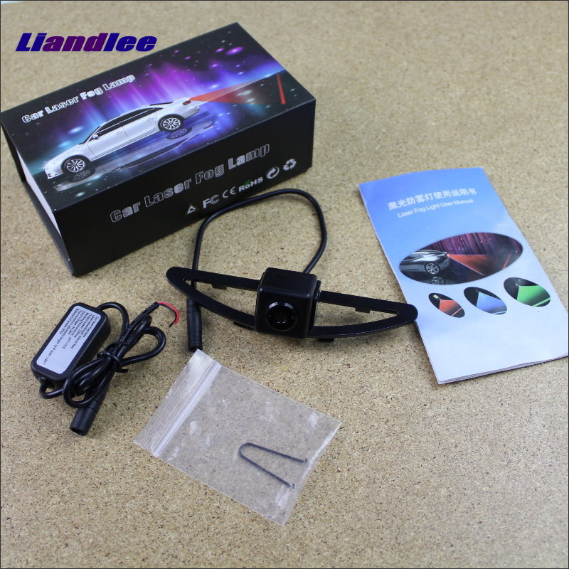 Liandlee Anti Collision Laser Lights For Hyundai Sonata NFC 2009~2012 Car Prevent Mist Fog Lamps Anti Haze Warning Rear Light car tracing cauda laser light for volkswagen vw jetta mk6 bora 2010 2014 special anti fog lamps rear anti collision lights