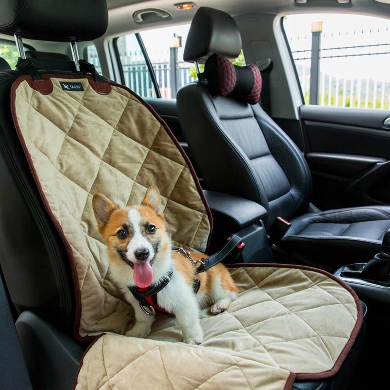Minkštas naminių gyvūnėlių automobilio sėdynės dygsniuotas - Naminių gyvūnėlių produktai - Nuotrauka 3