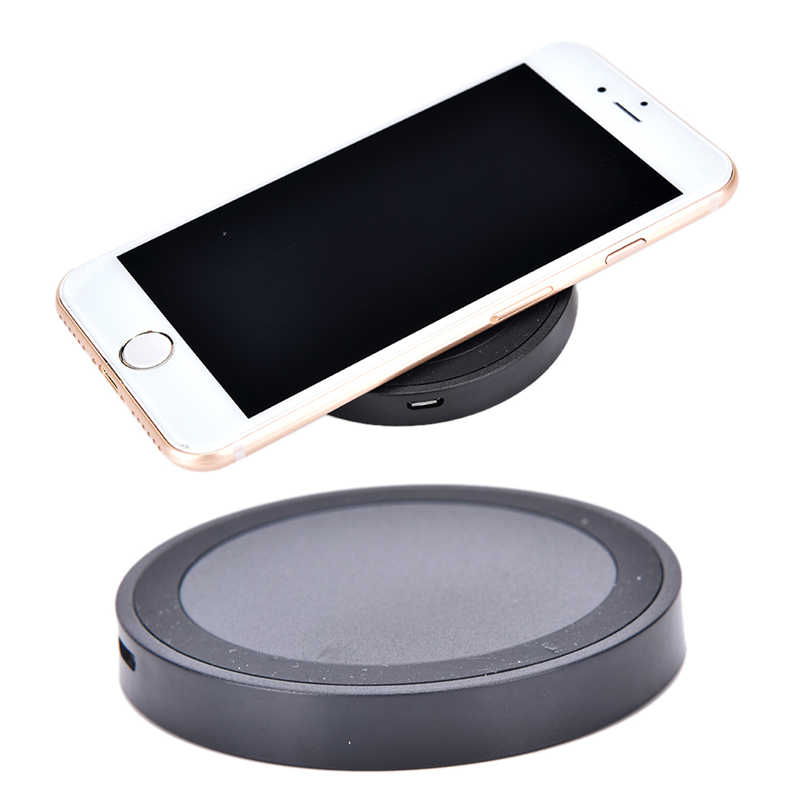 Mini Qi Caricatore Senza Fili di Ricarica USB Pad di Ricarica Per iPhone X 8 8 Plus Samsung Galaxy S6 S7 Bordo S8 più per la Nota 5 8 Nokia