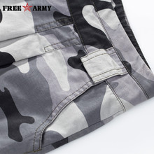 Brand Camo Shorts For Women Summer Mid Waist Denim Shorts Cotton Loose Casual Women Shorts Military Camouflage Shorts Plus Size