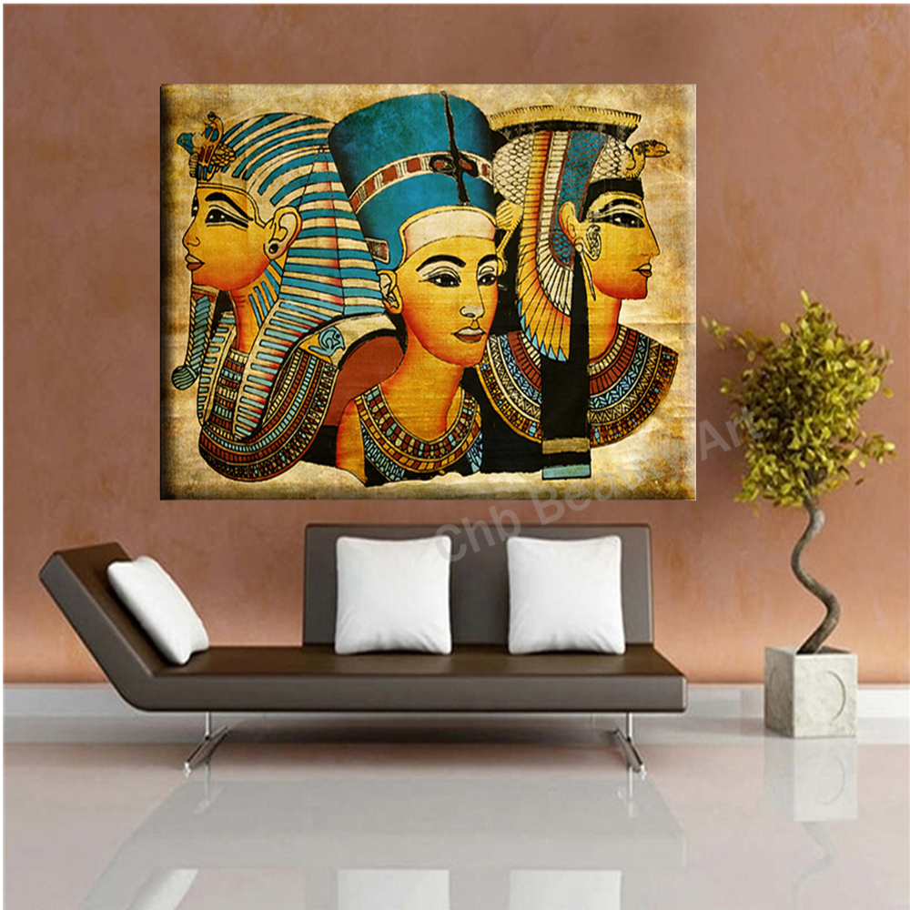 Popular egypt wall paintings buy cheap egypt wall - Cuadros modernos para living ...