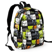 Age war kindergarten schoolbag satchel little boy star school backpack cartoon