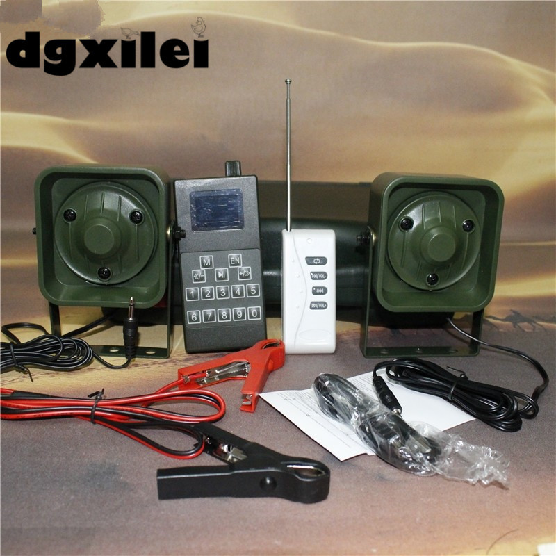 2017 Xilei Outdoors Mp3 Bird Caller 50W 150Db Remote Control 998D Duck Call Mp3 Sounds Hunting Bird Caller With Timer image