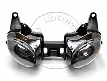Motorcycle Front Headlight For kawasaki ZX-6R ZX6R 2007-2008 Head Light Lamp Assembly Headlamp Lighting Moto Parts
