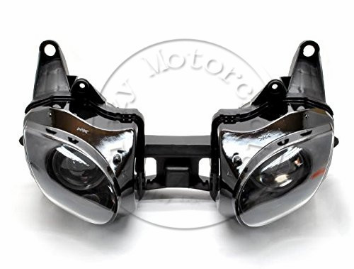 Motorcycle Front Headlight For kawasaki ZX-6R ZX6R 2007 2008 Head Light Lamp Assembly Headlamp Lighting Moto Parts motorcycle radiator protective cover grill guard grille protector for kawasaki z1000sx ninja 1000 2011 2012 2013 2014 2015 2016
