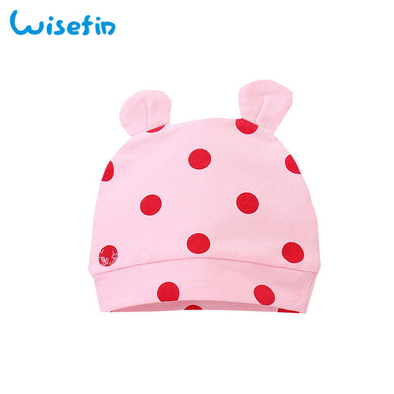 Wisefin Polka Dot Newborn Baby Girl Outfits Set Cute Giraffe Infant Girl Clothing With Hat Winter Autumn Baby Clothes For Girl in Clothing Sets from Mother Kids