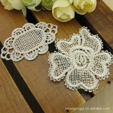Shall be affixed hairpin lace soluble lace fabric accessories handmade hair accessories(China)