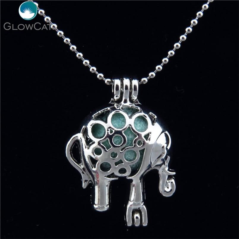 5X-K179 Pearl Bead Cage Runnig Horse Diffuser NO Akoya Oyster Locket