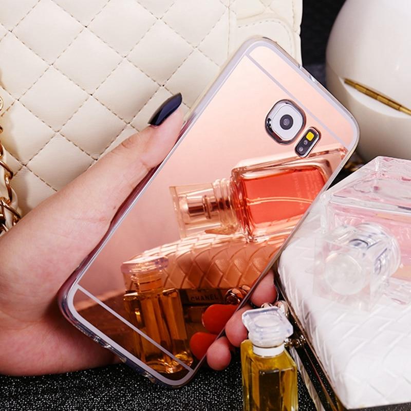 Ny ankomst spegel Soft Case Silikon Skyddande TPU Bak Skydd För - Reservdelar och tillbehör för mobiltelefoner - Foto 3