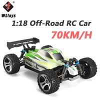 Wltoys A959 B 1:18 RC Car 2.4G 4WD 70KM/H High Speed RC Drift Car Remote Control Car Radio Control RC Buggy Voiture Telecommande