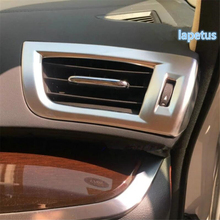 Lapetus Inside Air Conditioner AC Outlet Vent Decoration Frame Cover Trim ABS Fit For Toyota Alphard / Vellfire AH30 2016 - 2019 lapetus car styling upper roof air conditioning ac vent outlet cover trim abs fit for toyota alphard vellfire ah30 2016 2019
