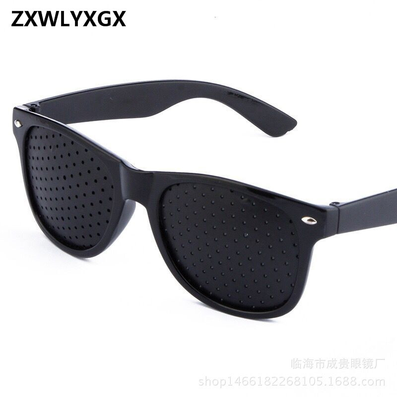 2018 New Fashion Men Women Vision Care Pin Hole Sunglasses