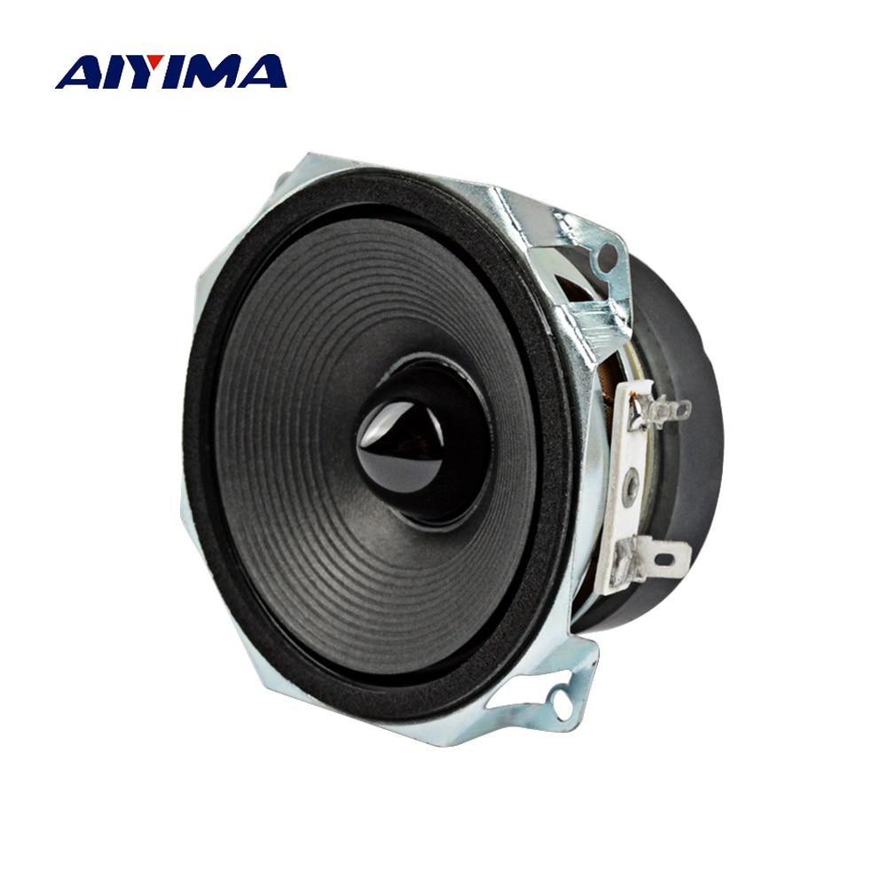 Aiyima 1PC 3Inch Full Range Speakers Loudspeaker 8Ohm 30W Subwoofer Audio Speaker Unit DIY