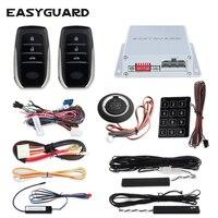 EASYGUARD PKE автомобильная сигнализация система push start Система дистанционного запуска двигателя start stop Авто Пассивный Автозапуск комплект сенсо