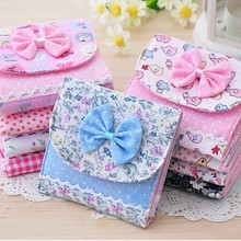 Small Articles Gather Case Bag Girl Lady Sanitary Napkins Pads Women Pouch Small Mini Storage Box Bag Color Random