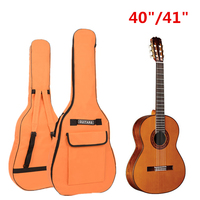 IRIN Portable Double Straps Oxford Fabric Gig Bag For 40 41 Acoustic Guitar Soft Waterproof Guitar