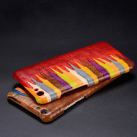 Colorful Back Case For Apple IPhone 7 6 6s Plus Top Quality Luxury Cowhide Genuine Leather