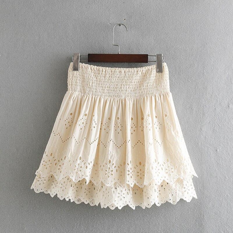 dc13be2bb Las 10 mejores faldas de volantes cortas ideas and get free shipping ...