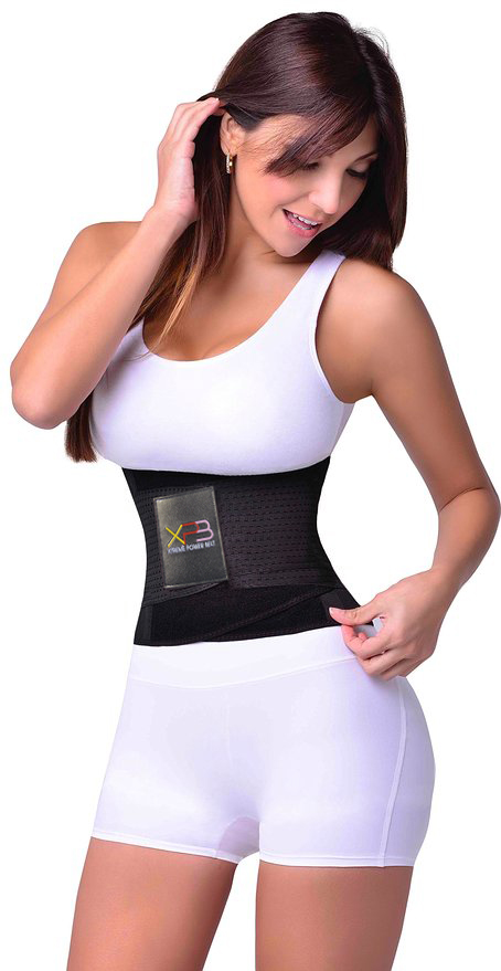 S-2XL Xtreme Hot Slimming Body Shaper Girdle Belt Latex Waist Cincher Underbust Tummy Control Women Corset Firm Waist Trainers (4)